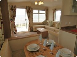 Kintyre View 212 - 3 Bedroom Caravan Rental Craig Tara