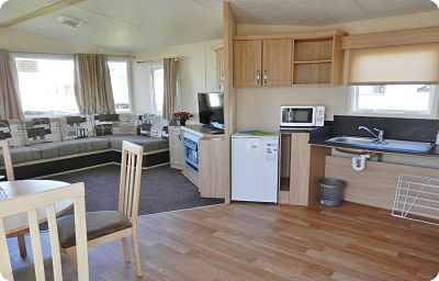Greenan Village 16 - 2 Bedroom Adapted Caravan Craig Tara - Click Image to Close